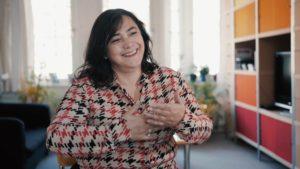 Saniye, oprichter Stichting Kezban